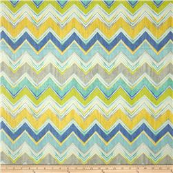 Swavelle/Mill Creek Indoor/Outdoor Culloden Chevron Pacific Fabric