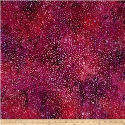 Wilmington Batiks Splash Dots Fuchsia/Red