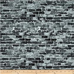 New York State Of Mind Brick Wall Gray