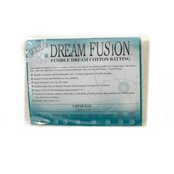 "Quilter's Dream Fusion Cotton Request Batting (46"" x 36"") Craft"