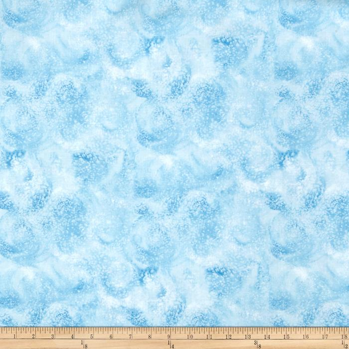 Eskimo Snow Swirl Light Blue