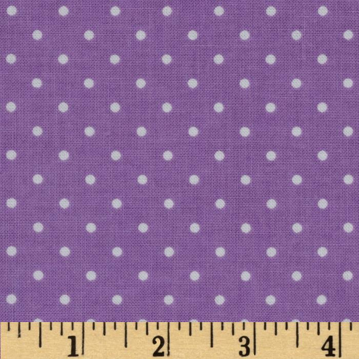 Michael Miller Pinhead Dot Purple