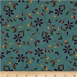 Moda Perfectly Seasoned Daisies Teal