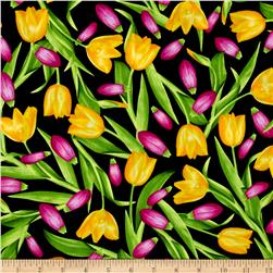Kanvas Bloom With A View Tulips Yellow/Pink