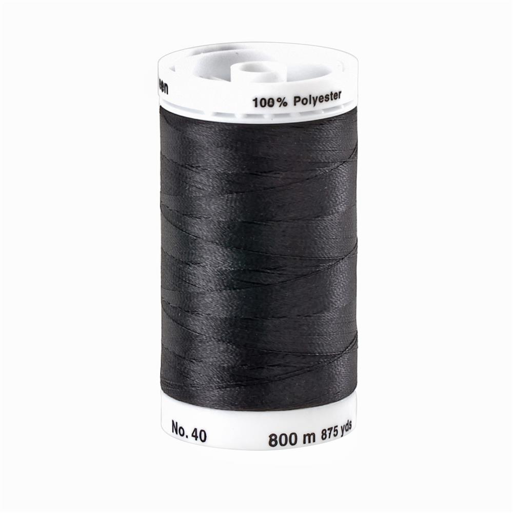 Mettler Polysheen Thread 875yds Black