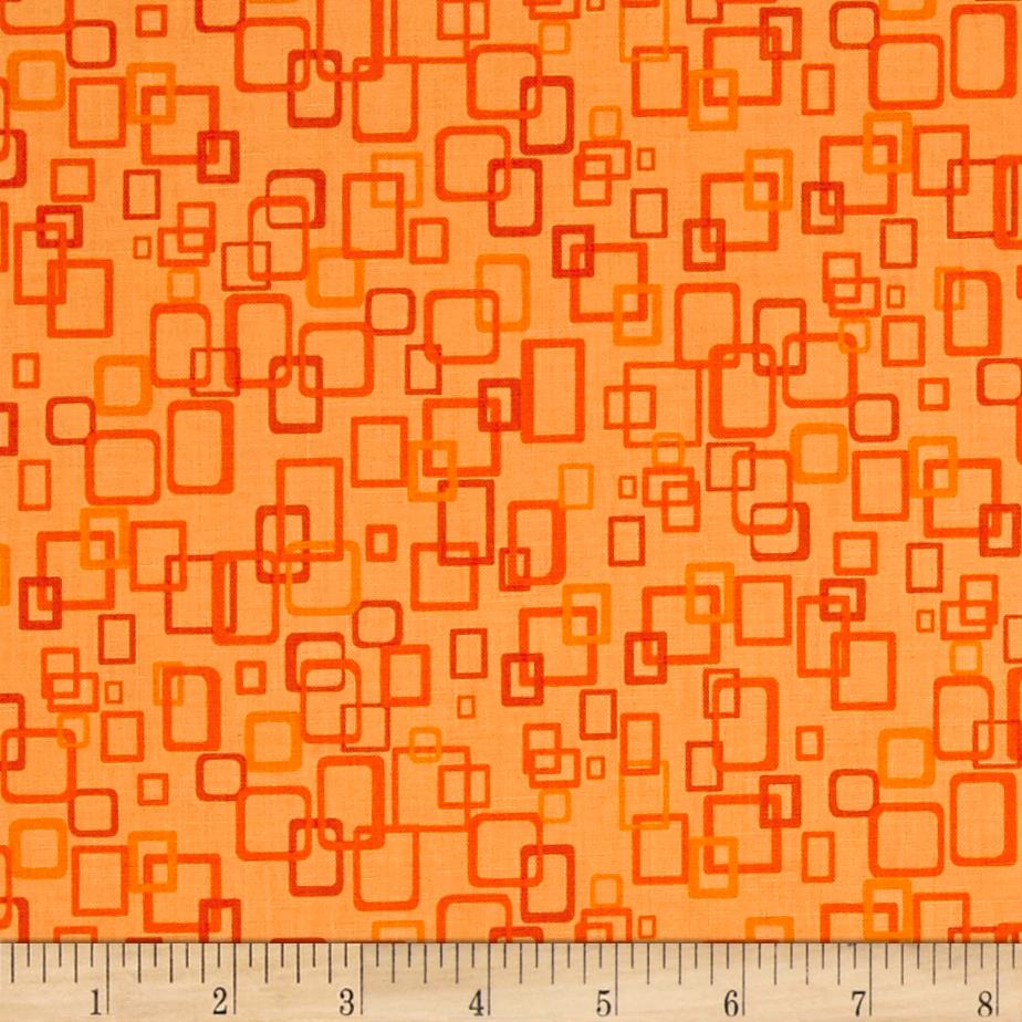 Are We There Yet Geometric Orange