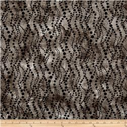 Timeless Treasures Shadow Chic Dotty Waves Iron