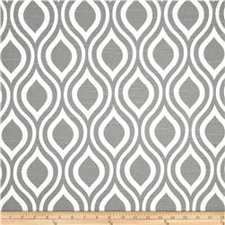 Premier Prints Nicole Slub Ash Grey Fabric