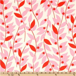 Nicey Jane Lindy Leaf Pink