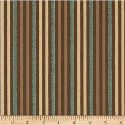 Open Road Stripe Brown