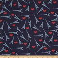 Dear Stella French Lessons Eiffel Towers Navy