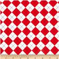Remix Argyle Red