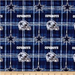 NFL Flannel Dallas Cowboys Navy/Grey