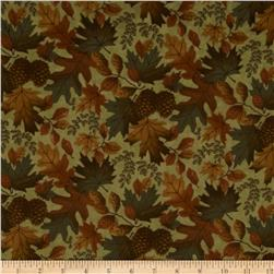 Moda Boundary Water Flannel Fall Mix Moss Green