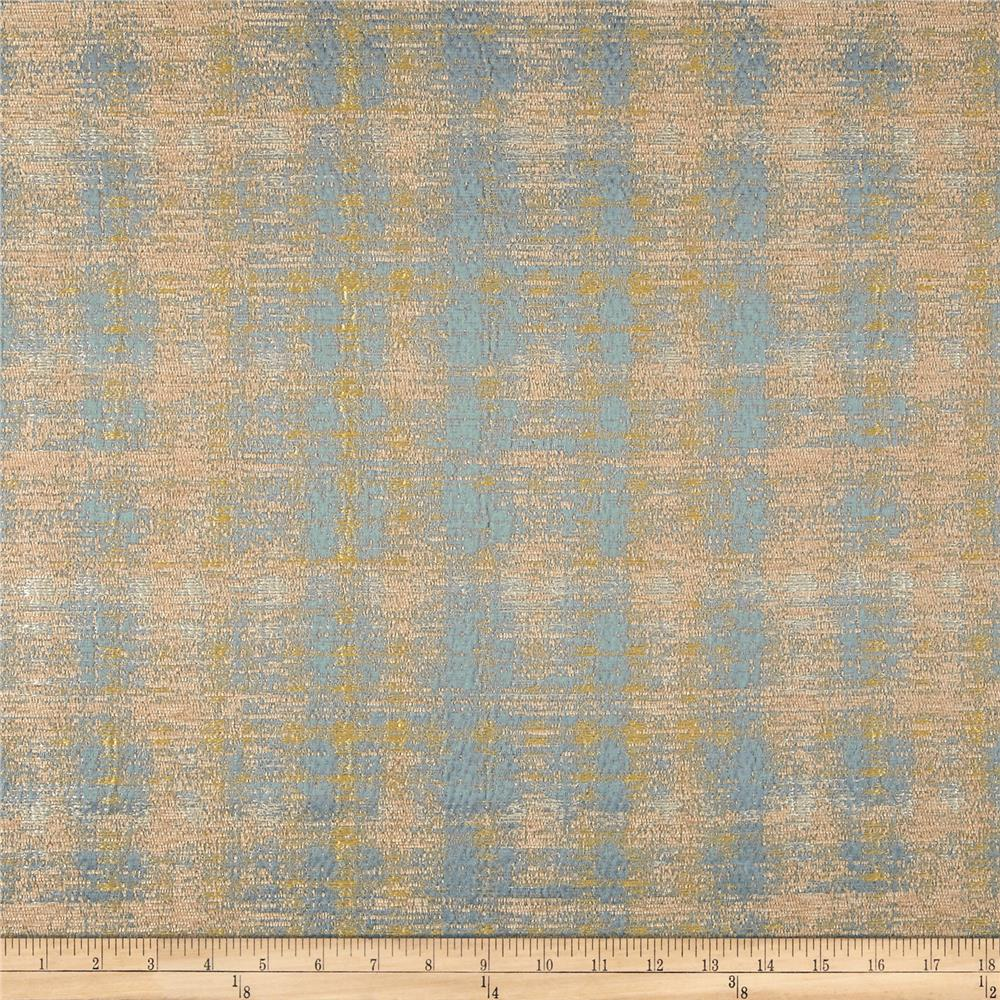 World wide vera textured chenille sky discount designer for Fabric world