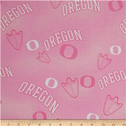 Collegiate Cotton Broadcloth Oregon Pink