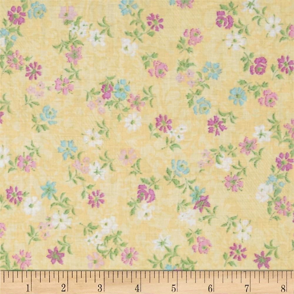 Object moved for Victorian floral fabric