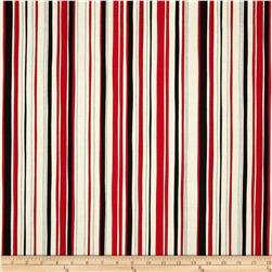 Kanvas Tempo Poppy Stripe Red