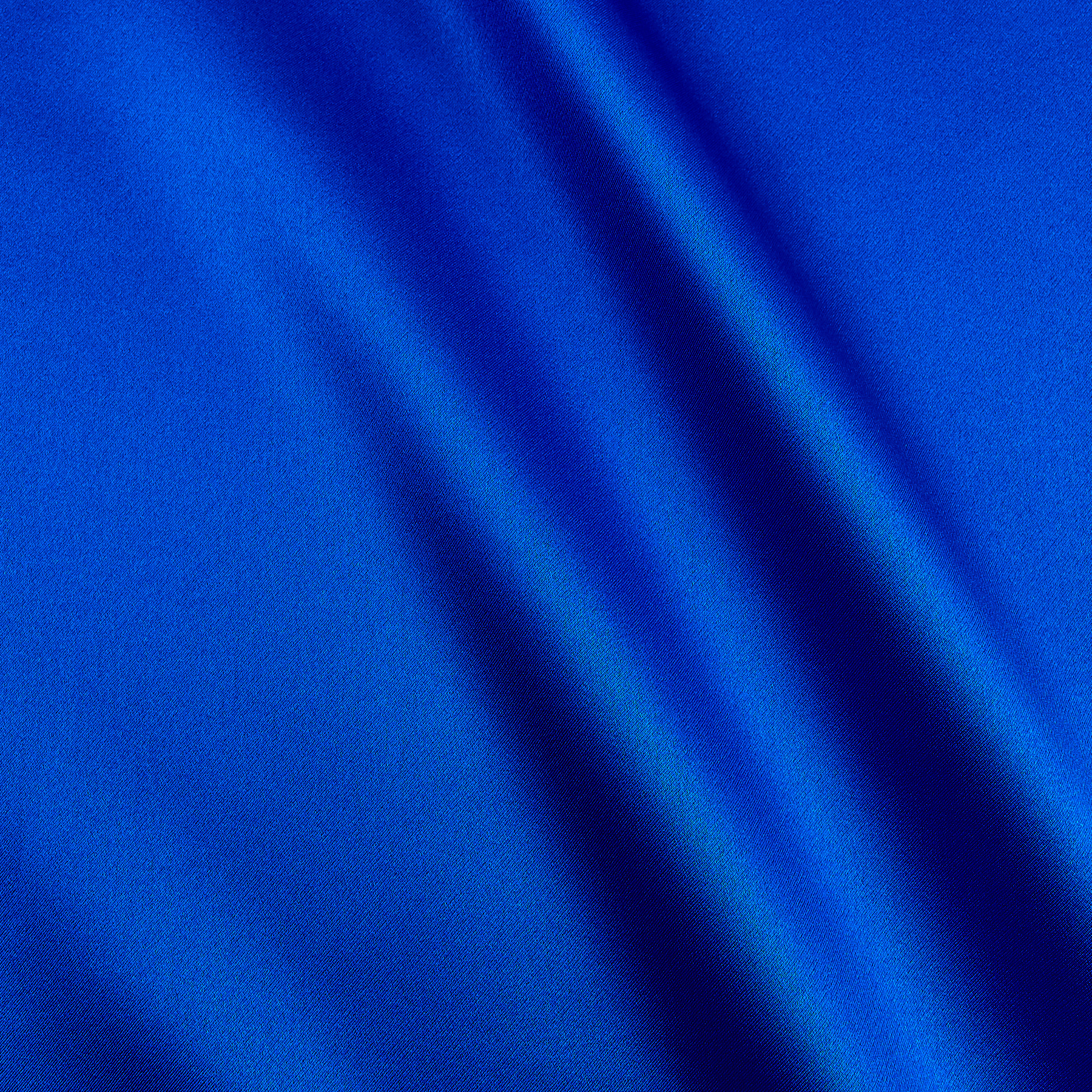 Image of 100% Silk Charmeuse Royal Blue Fabric