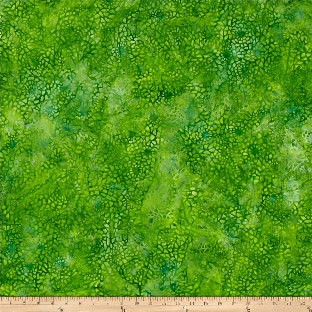 Wilmington Batiks Mosaic Bright Green