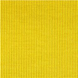 Rayon Spandex Rib Knit Solid Bright Yellow