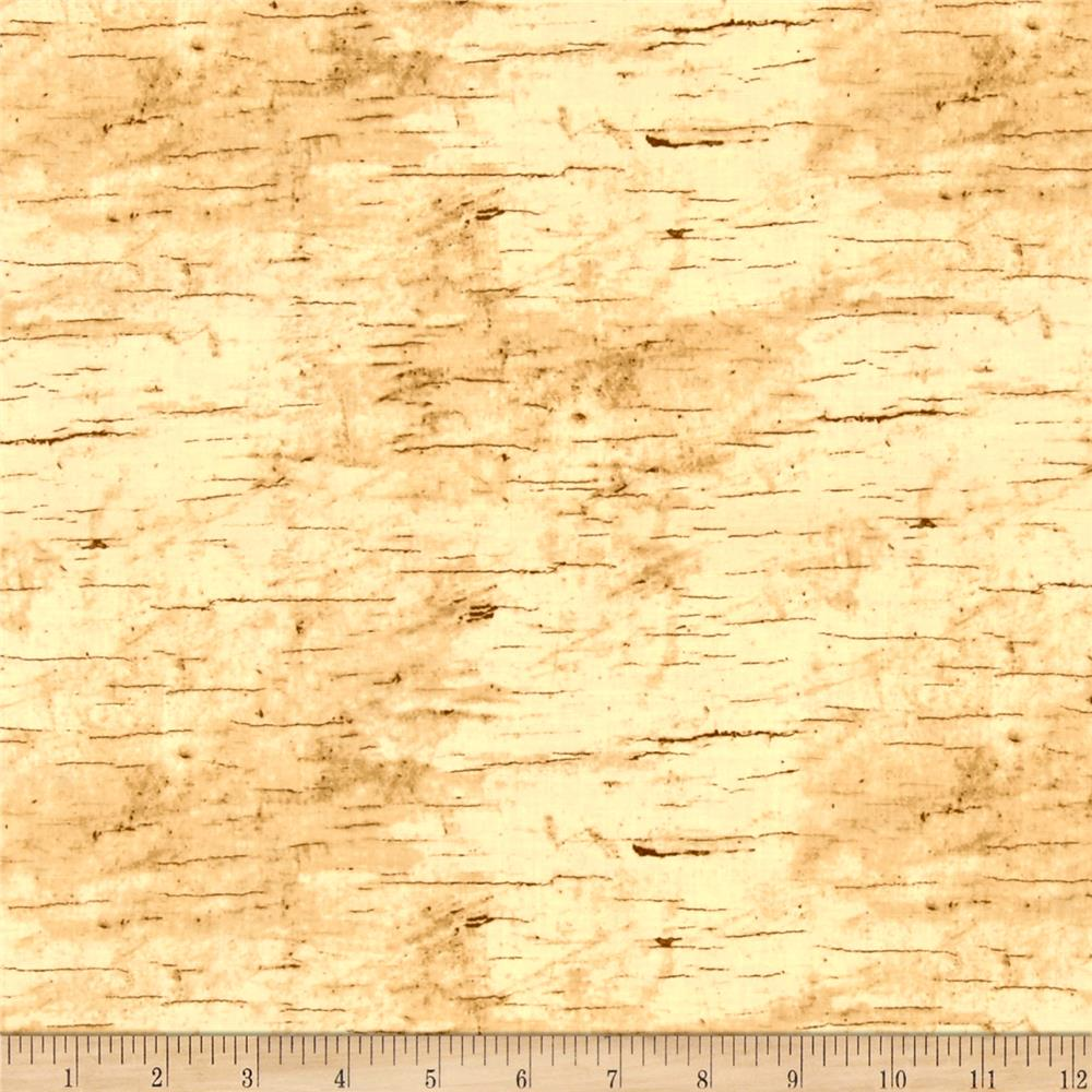 moose lodge wood texture beige discount designer fabric