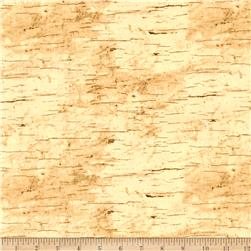 Moose Lodge Wood Texture Beige