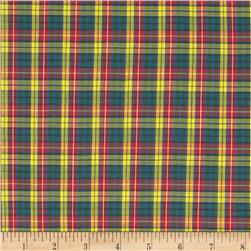 Tartan Plaid Red/Yellow/Green