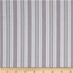Gracious Skies Stripe Grey/Mint
