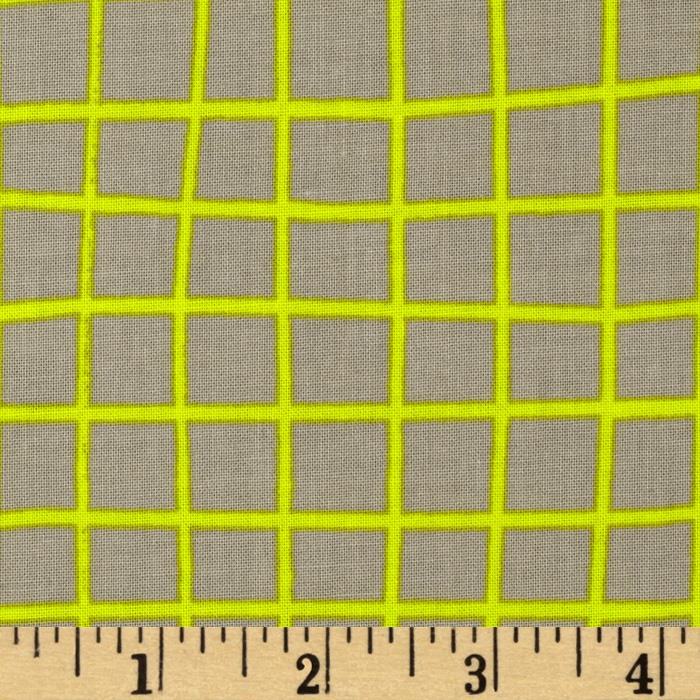 Cotton & Steel Moonlit Grid Yellow