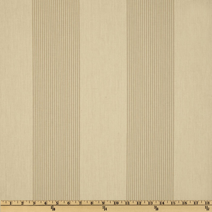 Magnolia Home Fashions Belle Isle Stripe Dove Fabric