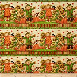 Grateful Harvest Scarecrow Shelf Multi
