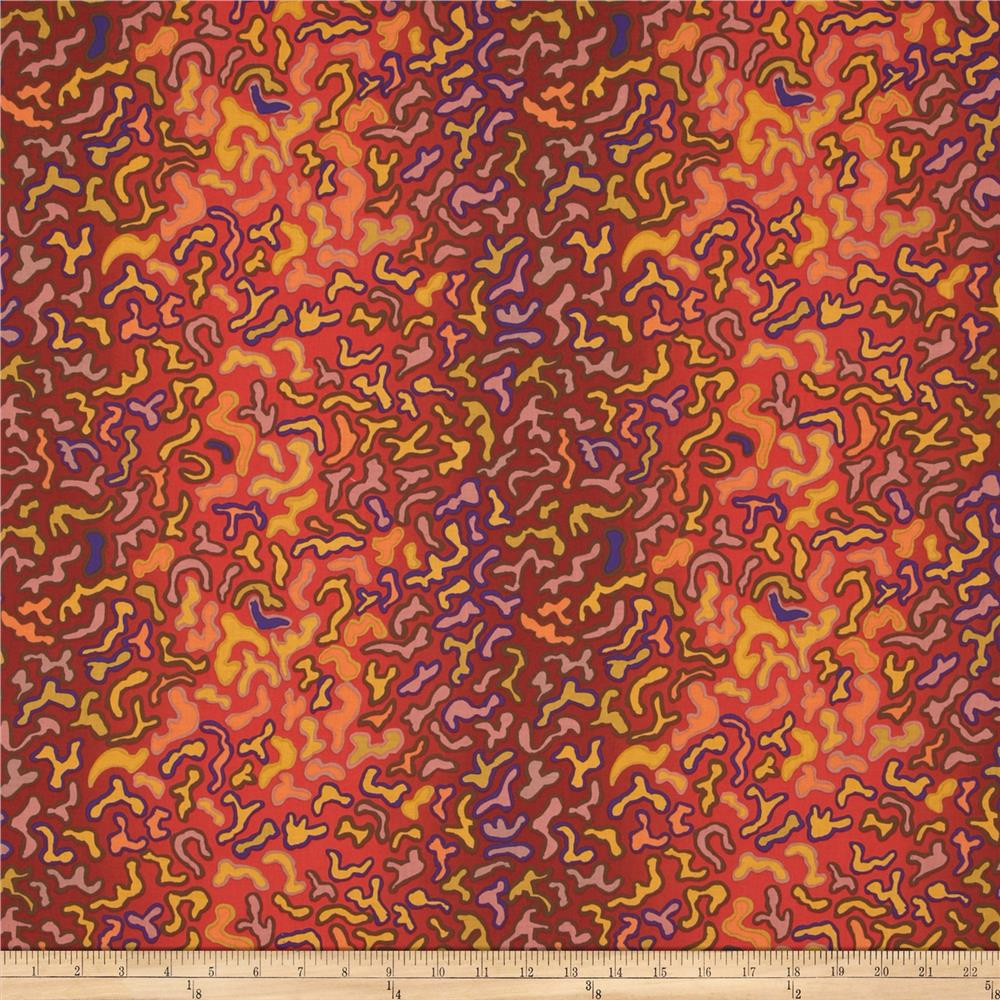 Kaffe Fassett Collective Babaganoush Brown