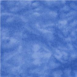 "A E Nathan 108"" Wide Mottled Flannel Royal"
