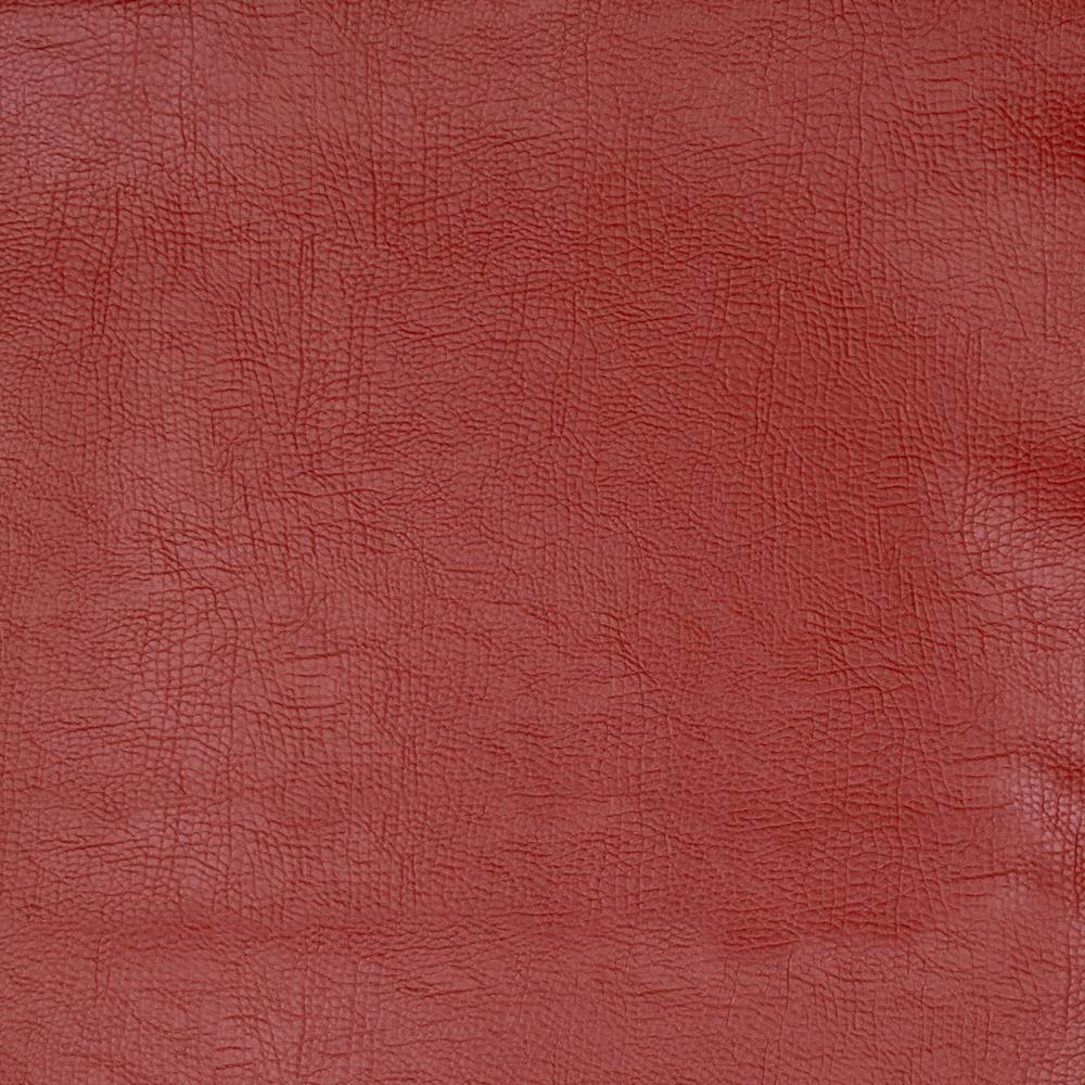 Fabricut 03343 Faux Leather Rust