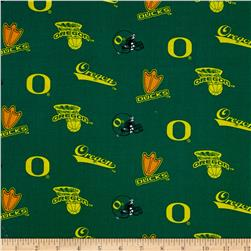 Collegiate Cotton Broadcloth University of Oregon