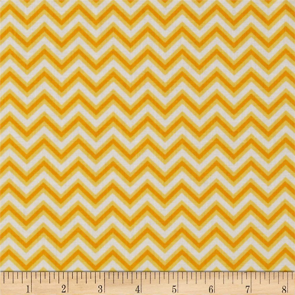 Anything Goes Basics Chevron Yellow