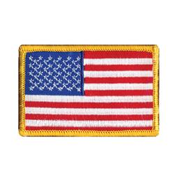 Wrights Iron On Applique American Flag