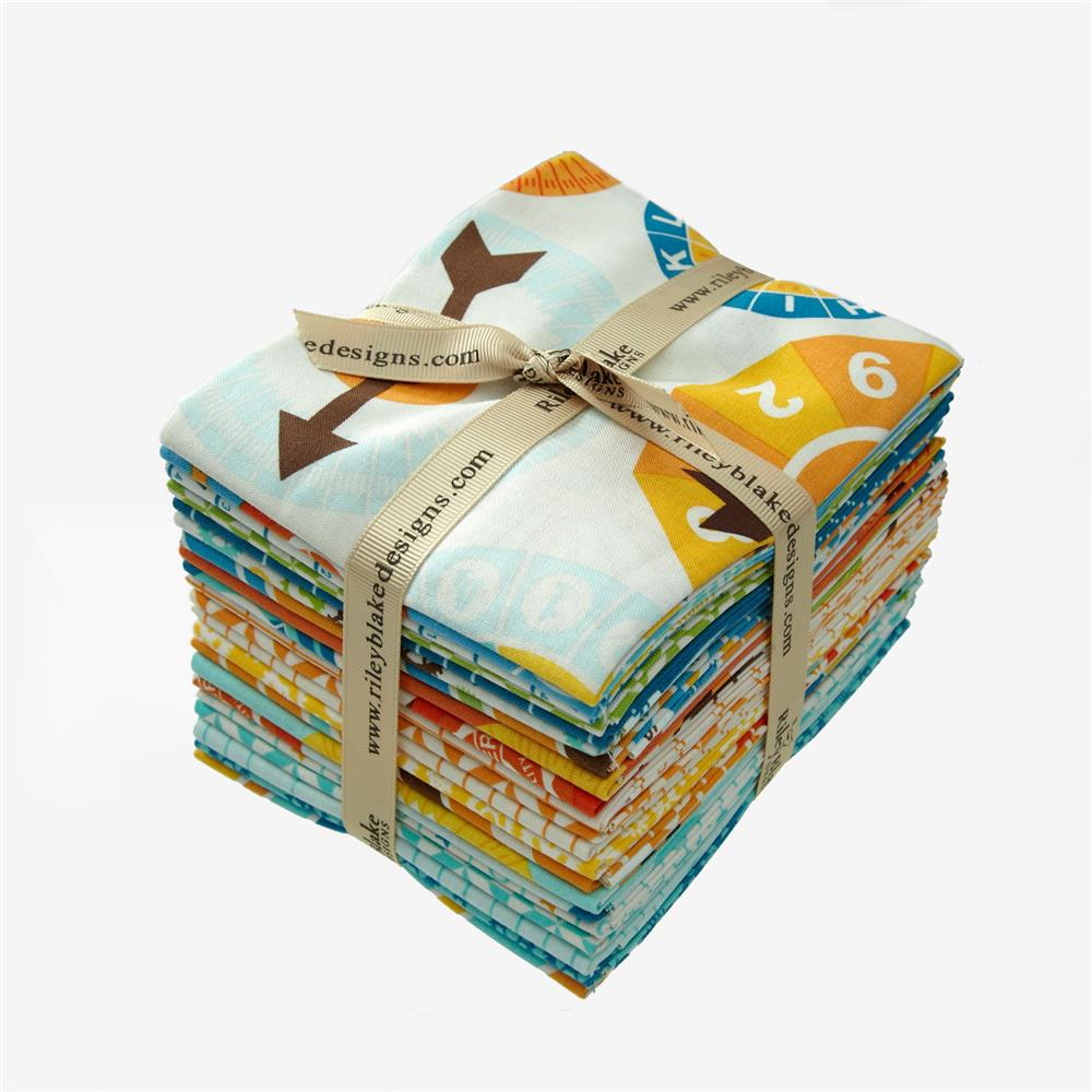 Riley Blake Fun & Games Fat Quarter Bundle
