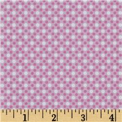 Michael Miller Dim Dots Orchid Fabric