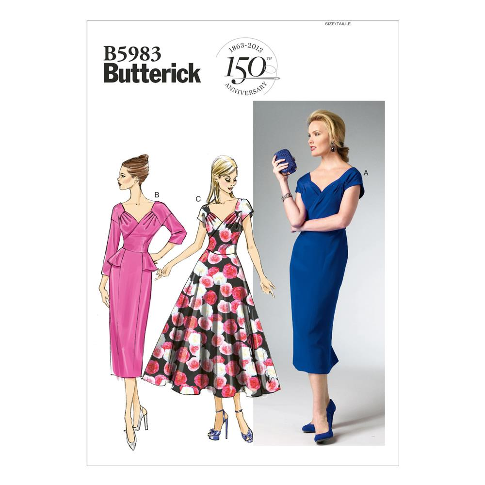 Butterick Misses' Dress Pattern B5983 Size A50