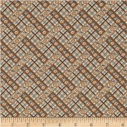Penny Rose Penelope Plaid Brown Fabric