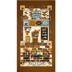 "Caffe Latte Coffee 24"" Panel Brown"