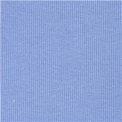 Basic Cotton Rib Knit Light Periwinkle