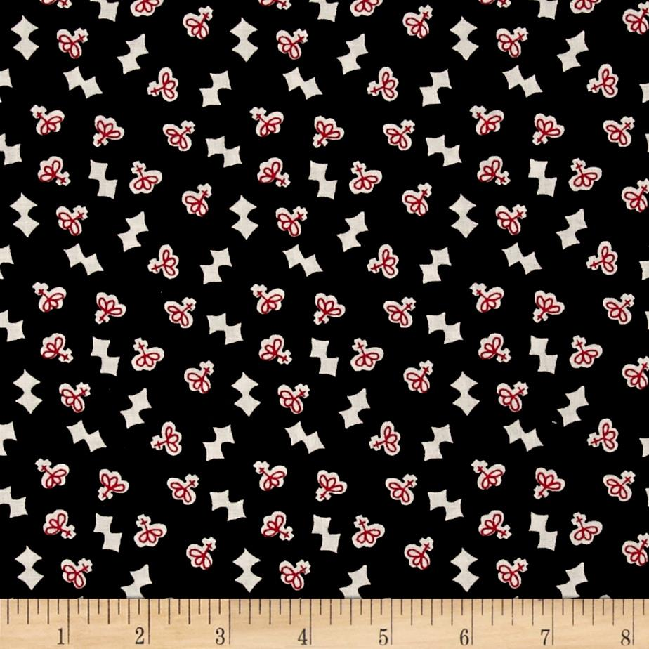 "Mary Fons Small Wonders 108"" Quilt Back Signature French Black"