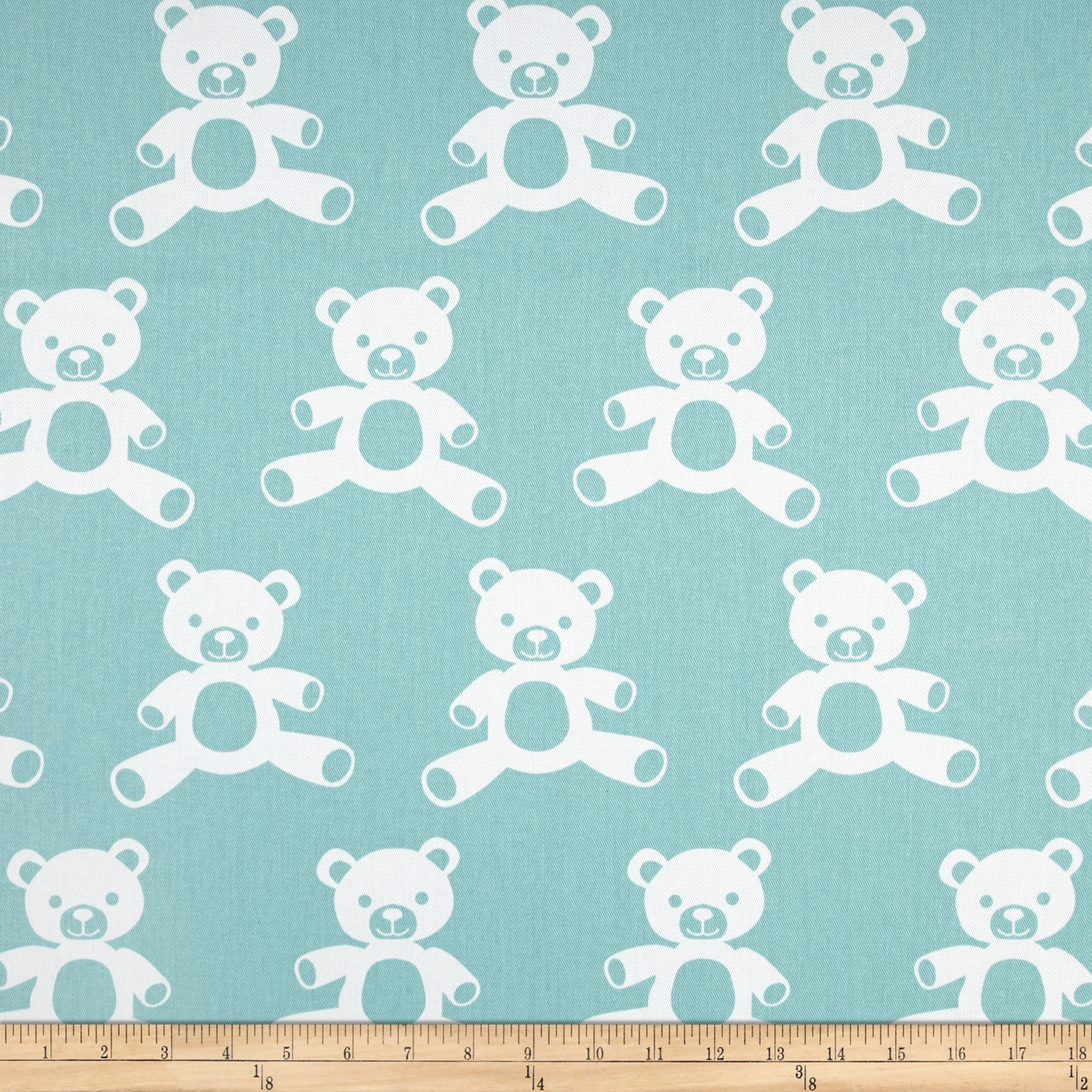 Premier Prints Teddy Twill Canal/White Fabric by Premier in USA