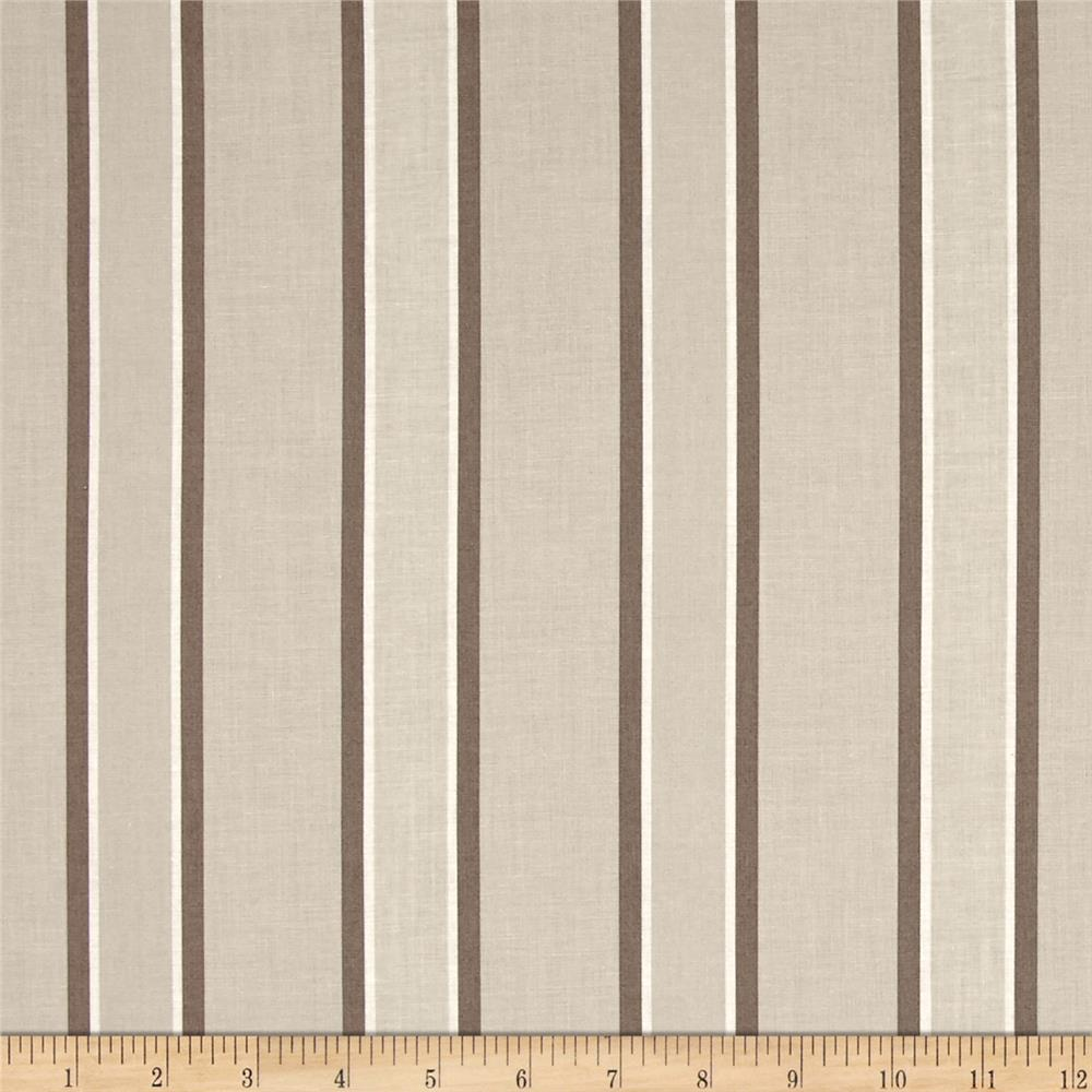 Hoffman Simply Eclectic Awning Stripe Beige