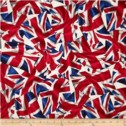 Kanvas Miscellanous Prints London Bridge Flying the Flag Red/White/Blue