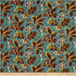 Moda Color Daze Secret Garden Blue Grass