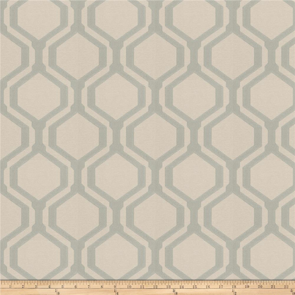 Fabricut Harpos Faux Silk Seaspray